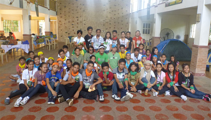 Camp Isko Likasan Of Holcim Philippines And Face Foundation With